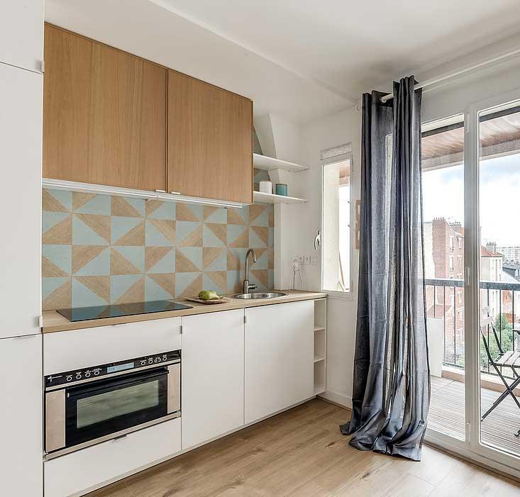 comment cr er une chambre dans un studio. Black Bedroom Furniture Sets. Home Design Ideas