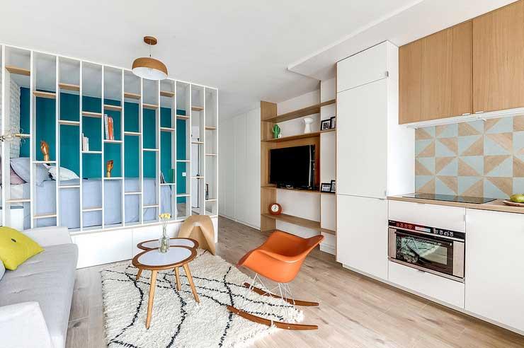 Créer une chambre dans un studio (7)