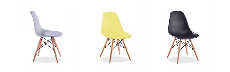 Chaise DSW de Charles & Ray Eames dans Superestudio.fr