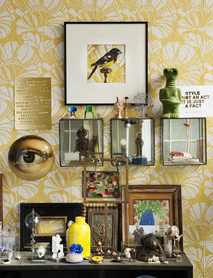 decoration cabinet de curiosites