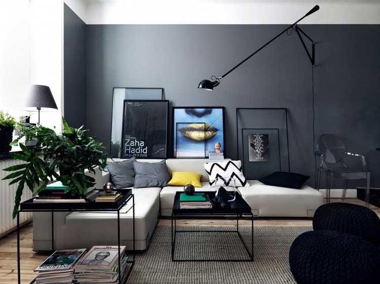 la d co d 39 un appartement au style industriel. Black Bedroom Furniture Sets. Home Design Ideas