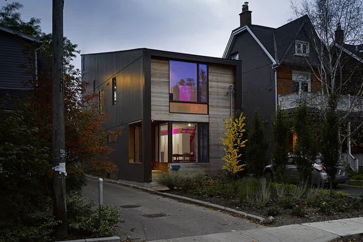 facade bois maison