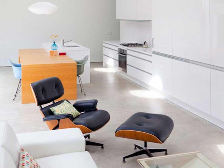 Fauteuil Lounge Eames noir