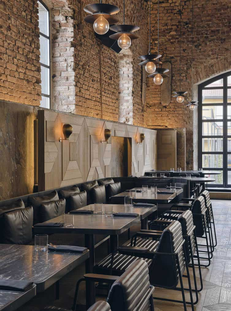 Restaurant au design industriel istanbul for Cuisine industrielle restaurant