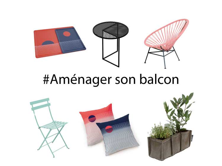 comment am nager son petit balcon. Black Bedroom Furniture Sets. Home Design Ideas