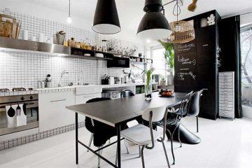 cuisine noir et blanc (2)
