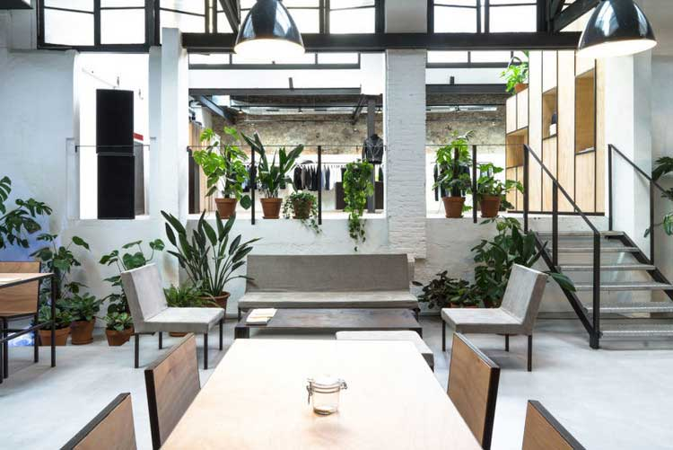 Concept store la d co int rieure design barcelone - Decoratie interieure hedendaagse trend ...