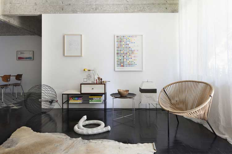 Appartement renove par l'architecte d'interieur Felipe Hess