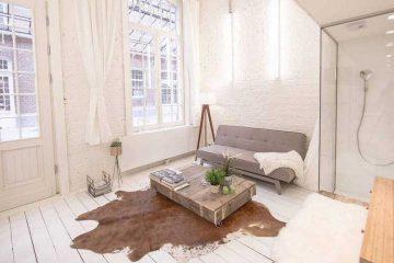Appartement tout blanc