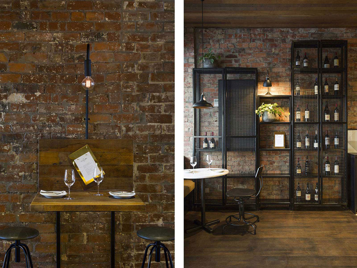 Idee deco style usine for Decoration interieur cafe bar