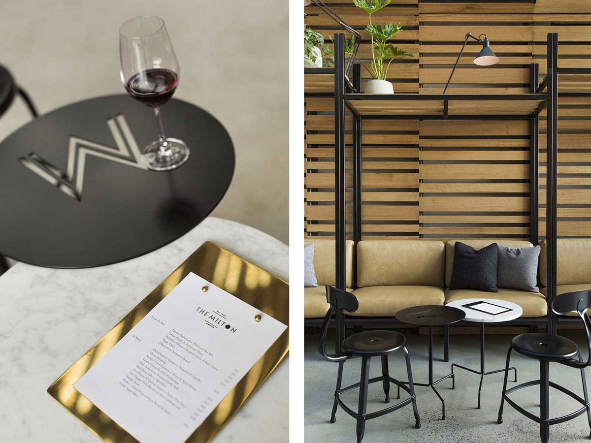 Id es d co pour un bar au look industriel - Idee deco industriel ...