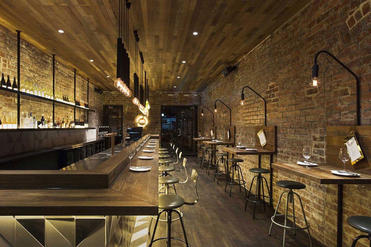 Id es d co pour un bar au look industriel for Pintura estilo industrial