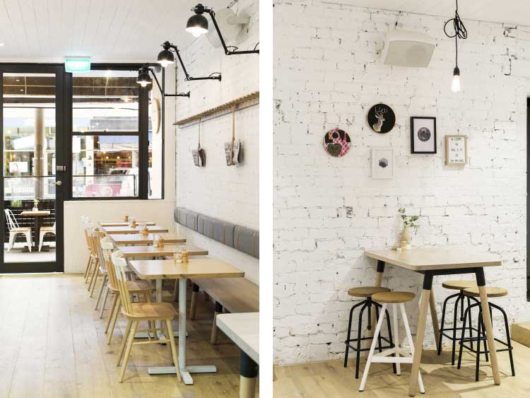 cafe deco industrielle