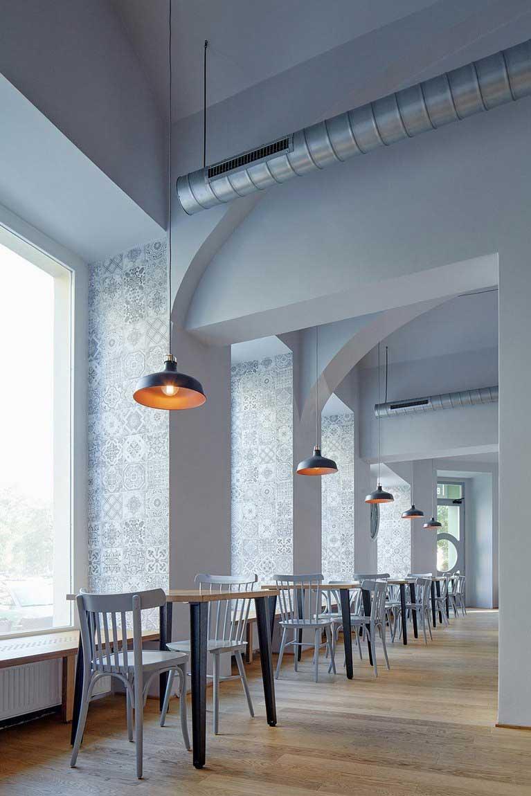 Comment associer bois et brique dans la d co int rieure - Colonne en platre pour decoration interieure ...
