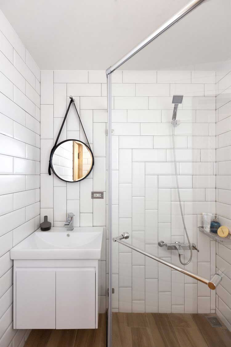salle de douches optimisee