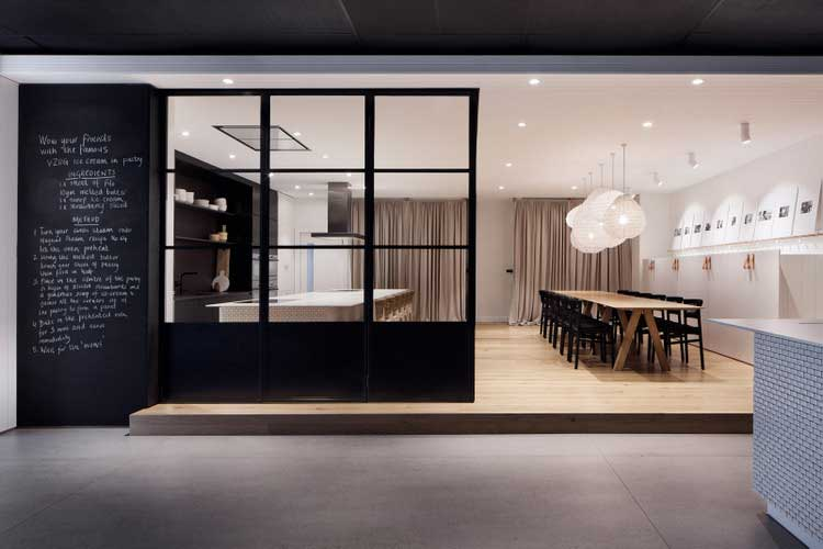 Un showroom design for Showroom cuisine