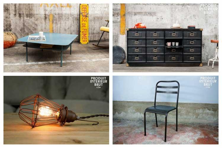 meubles industriels retro