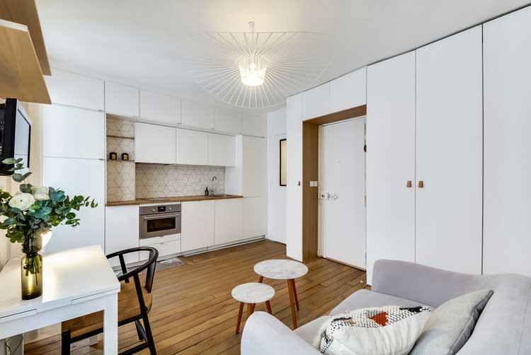 renovation studio parisien