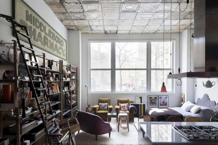 loft ambiance retro vintage