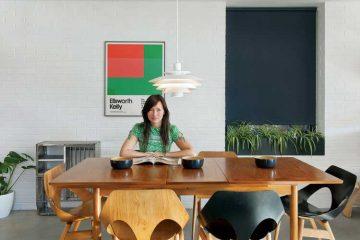 Un interieur qui melange mobilier moderne et scandinave (3)
