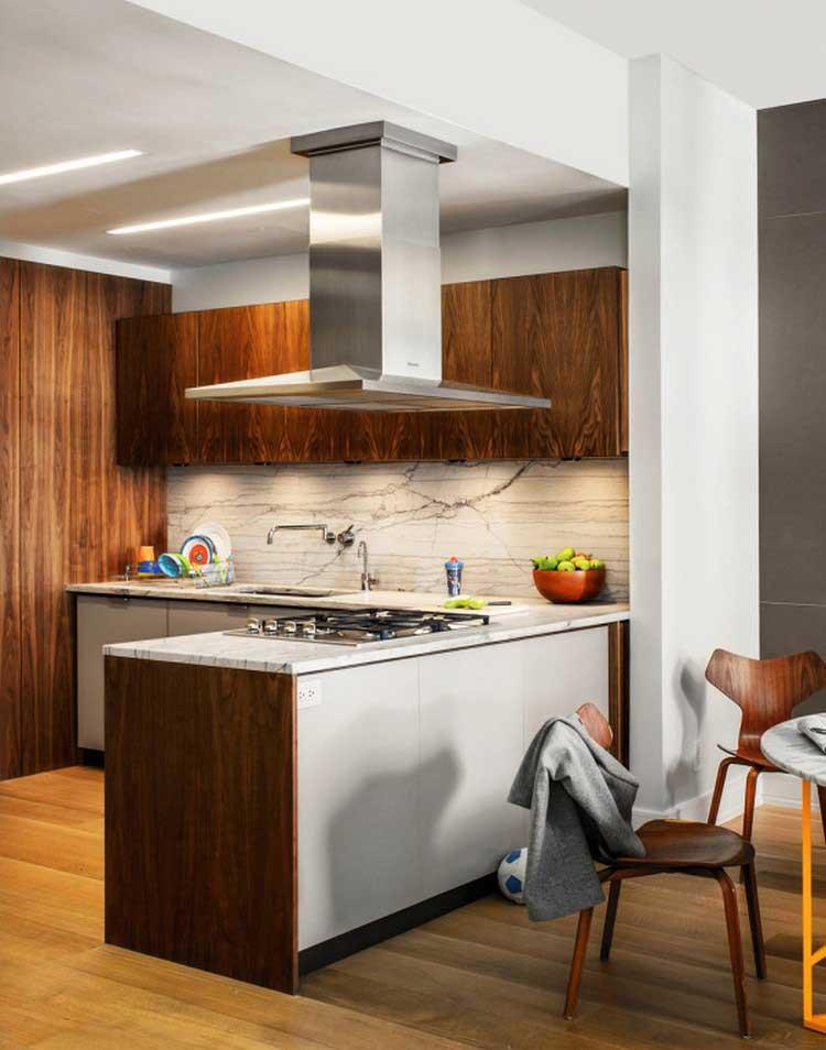 appartement decoration bois