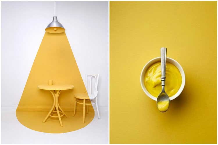Peinture jaune moutarde full size of frache peinture for Carrelage jaune moutarde