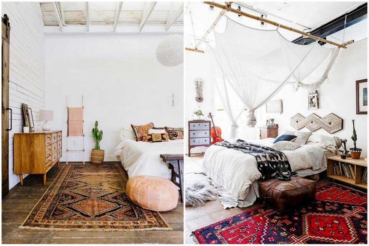 tapis dans chambre