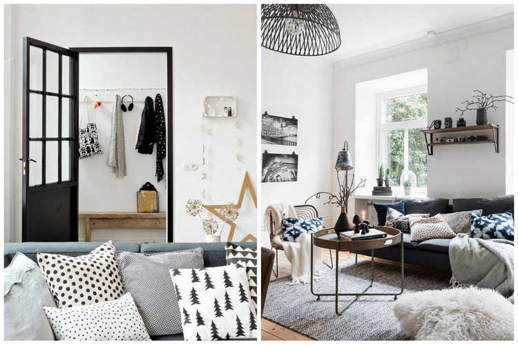 Comment cr er une d co scandinave dans votre salon for Photo deco salon