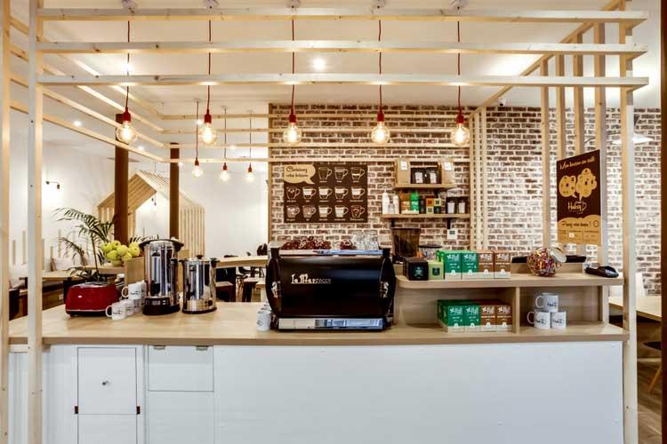 cafe look industriel