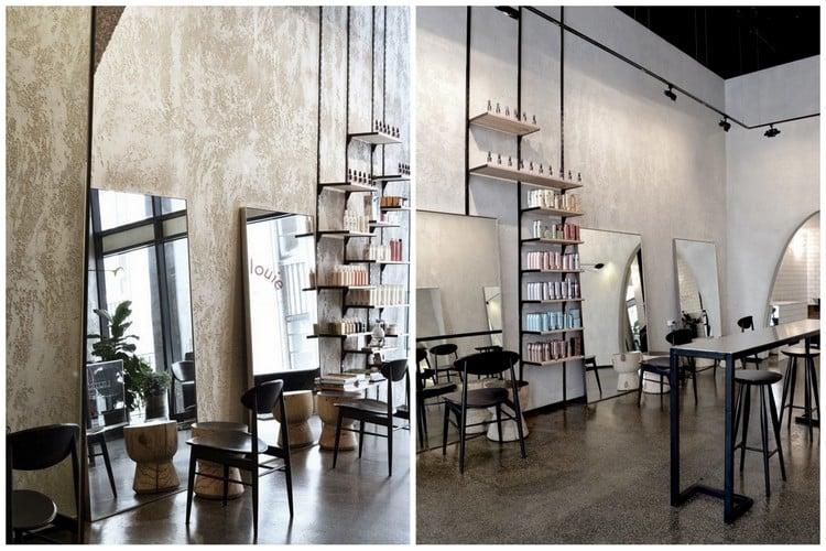 La Peinture Pour Un Salon De Coiffure : Revger idee de deco salon coiffure idée