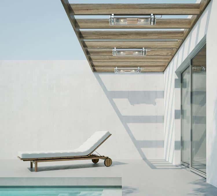 11 luminaires design pour l 39 clairage de votre terrasse ou On plafonnier exterieur terrasse