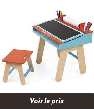 bureau enfant colore