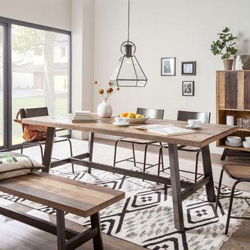 Quelle table de salle manger choisir selon votre d co - Proteger une table en bois brut ...