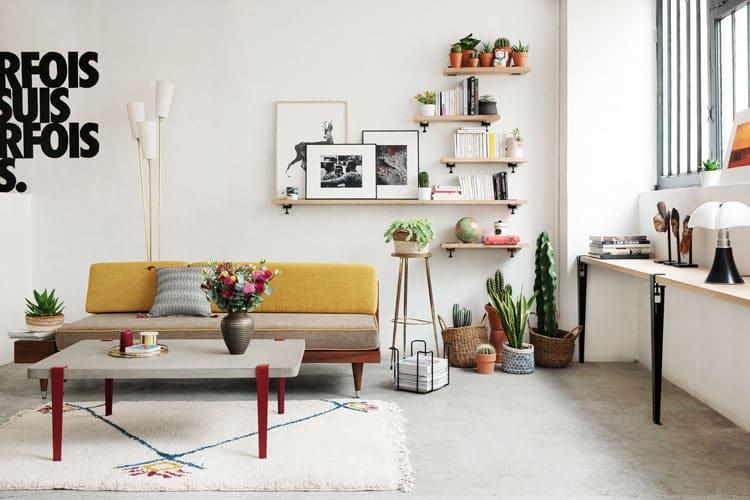 quelle tag re murale choisir selon son style de d co. Black Bedroom Furniture Sets. Home Design Ideas