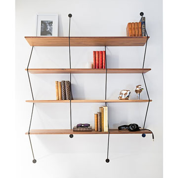 Quelle tag re murale choisir selon son style de d co for Etagere murale aluminium