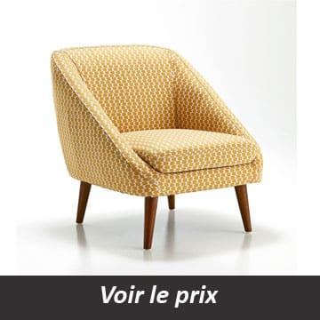 Quel fauteuil de salon choisir d couvrez mon guide d 39 achat - Fauteuil salon tissu ...