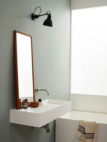 applique industrial bathroom