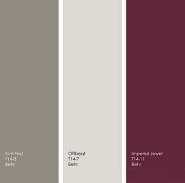 La couleur bordeaux refait son apparition parmis les tendances en d co for Quelle couleur peut on associer avec du gris