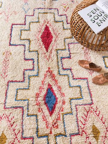comment nettoyer un tapis marocain