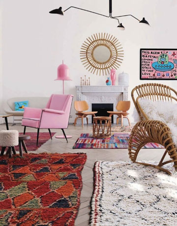 tapis berbere colores