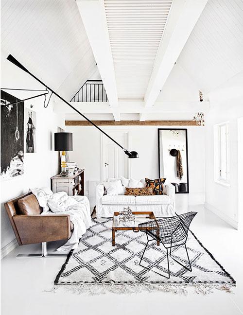 tapis berbere blanc