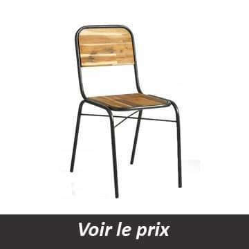 quelle chaise style industriel choisir pour un look atelier. Black Bedroom Furniture Sets. Home Design Ideas
