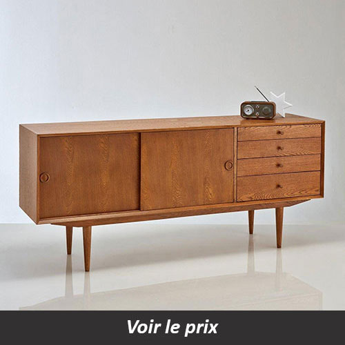 enfilade scandinave 15 mod les pour une salle manger au look vintage. Black Bedroom Furniture Sets. Home Design Ideas