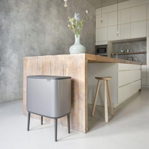 poubelle cuisine design