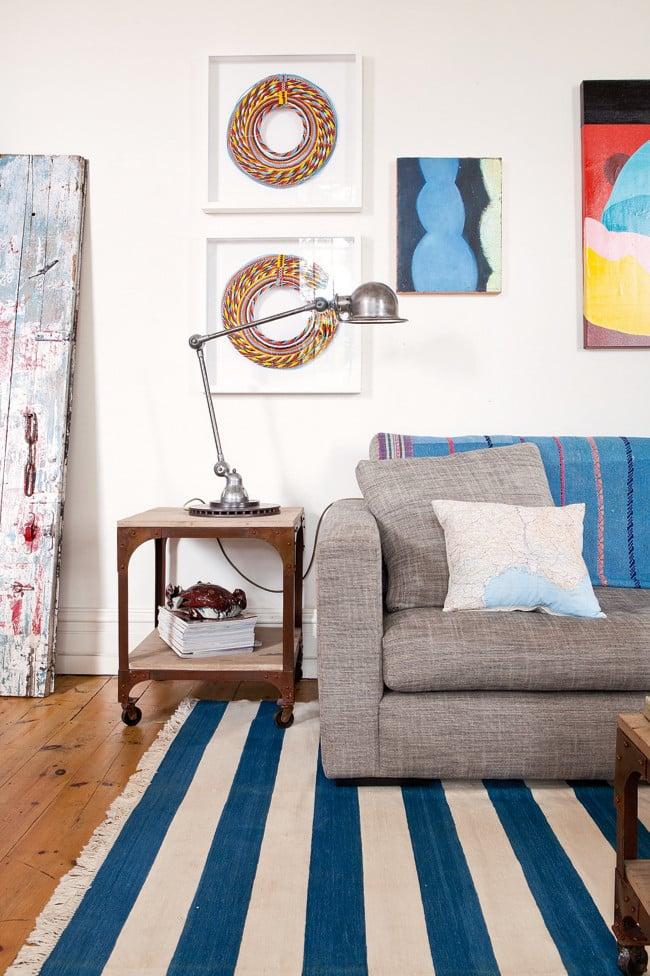 Appartement vintage au look coloré (1)