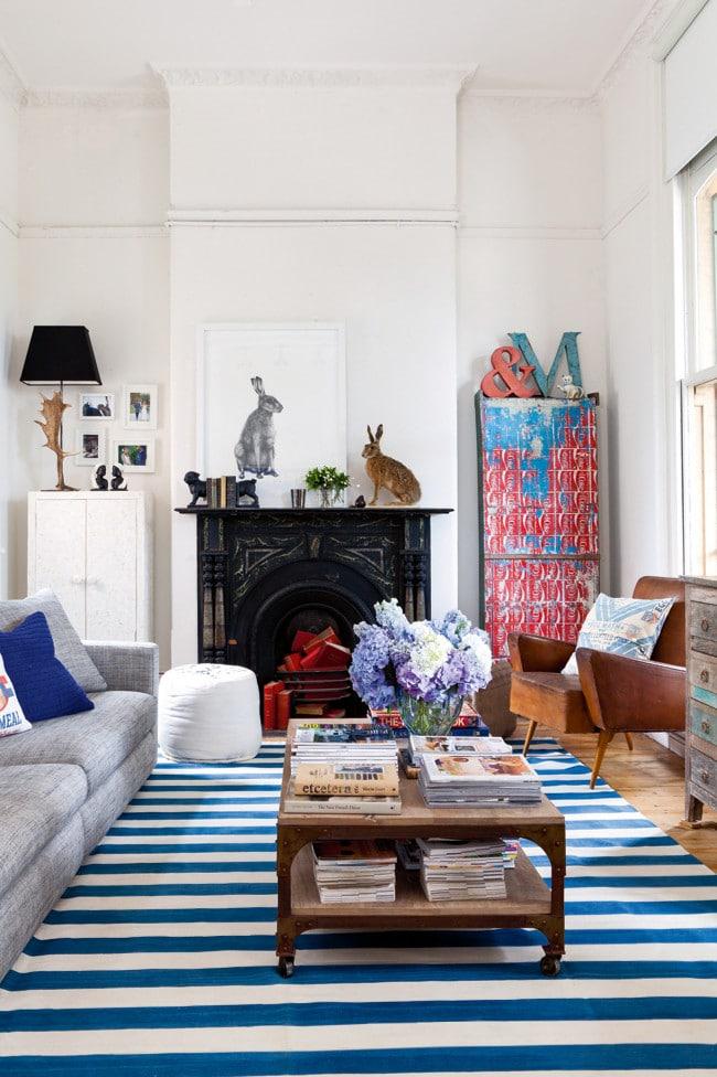 la d co vintage d 39 un appartement color. Black Bedroom Furniture Sets. Home Design Ideas