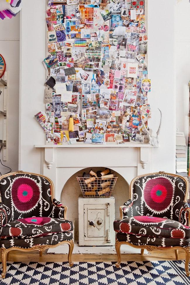 Appartement vintage au look coloré (8)