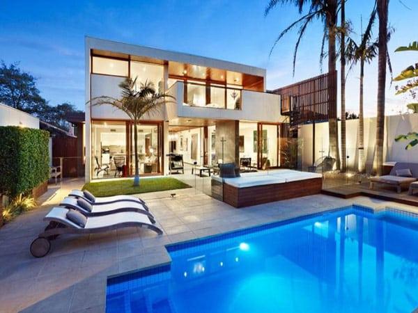 Une luxueuse villa - La maison trojan melbourne ...