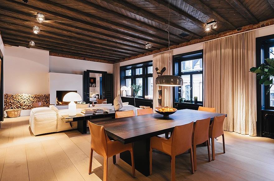 duplex mobilier bois