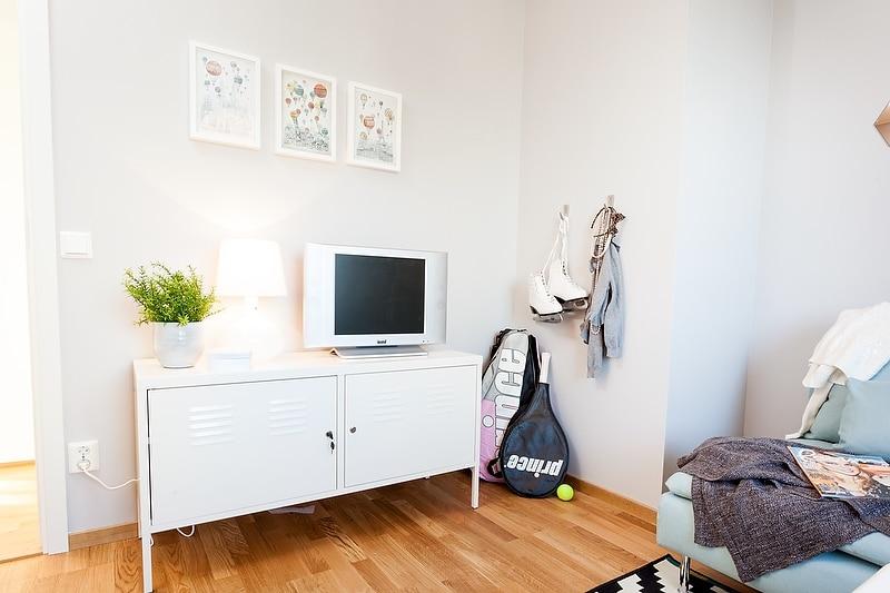 Un intérieur scandinave bleu-gris (7)